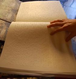 Libro in Braille