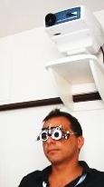 Occhiali di prova per la correzione dei vizi refrattivi (miopia, astigmatismo, ipermetropia)