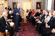 Il Presidente Napolitano riceve il premio Braille al Quirinale (12 settembre 2008)