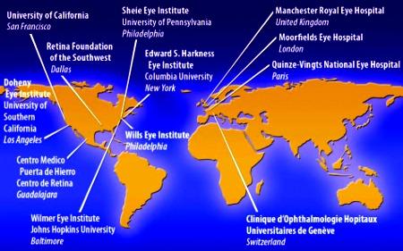 Retina elettronica: centri nel mondo dove si impianta una protesi chiamata Argus II