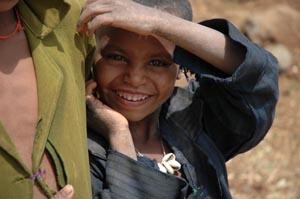 Giovane etiope. In Etiopia la IAPB Italia onlus ha realizzato 113 pozzi da cui attingere acqua potabile