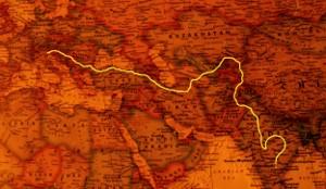 Percorso in tandem Italia-India