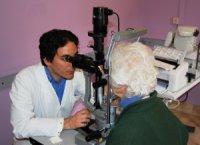Controllo oculistico (presso il Policlinico Umberto I)