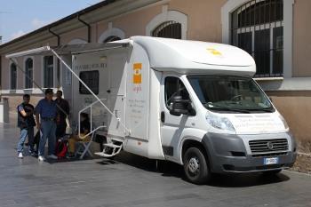 Unità mobile oftalmica della IAPB Italia onlus