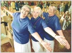 Anziane in forma. L'esercizio fisico regolare è consigliabile a ogni età