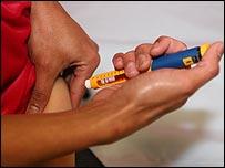 Il diabete di tipo 1 viene trattato con insulina