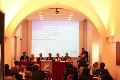 Convegno sulla prevenzione della cecità e i suoi vantaggi socio-economici organizzato da EFAB e IAPB Italia onlus (Roma, 20 settembre 2013)