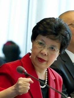L'ex direttrice generale dell'OMS Margaret Chan (Foto Who di V. Martin, part.)
