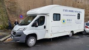 Unità mobile oftalmica della IAPB Italia onlus (Roma, 8-10 marzo 2016)