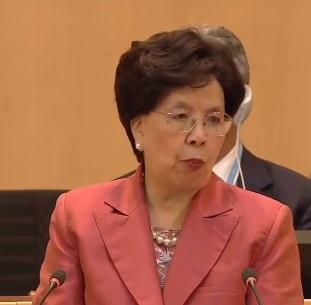 La direttrice generale dell'OMS Margaret Chan (Foto WHO)
